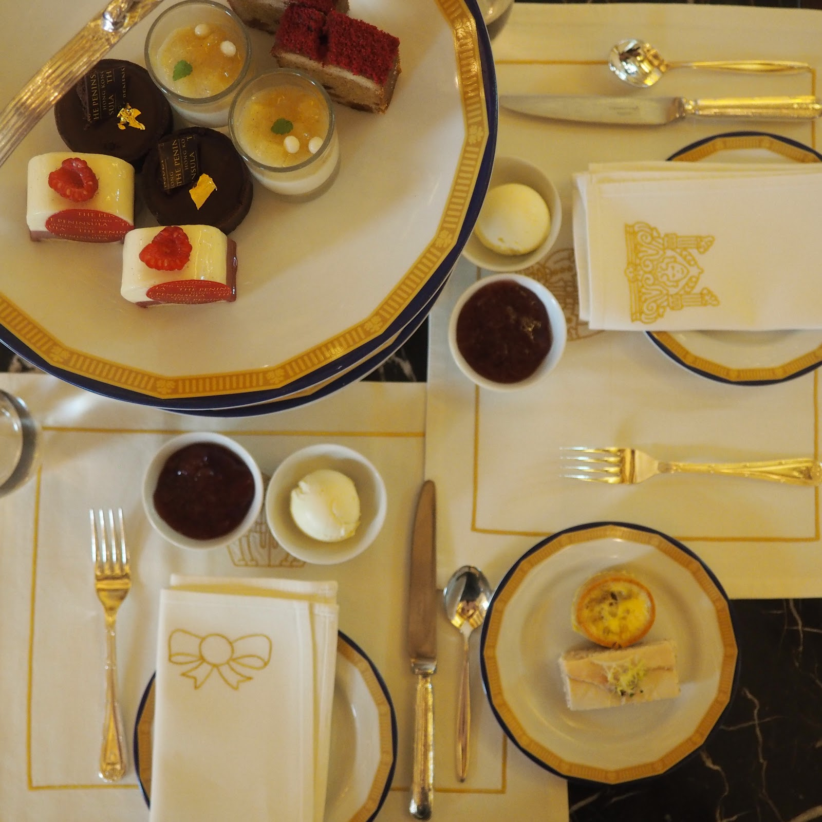 Afternoon Tea, The Lobby, Peninsula Hotel, Hong Kong