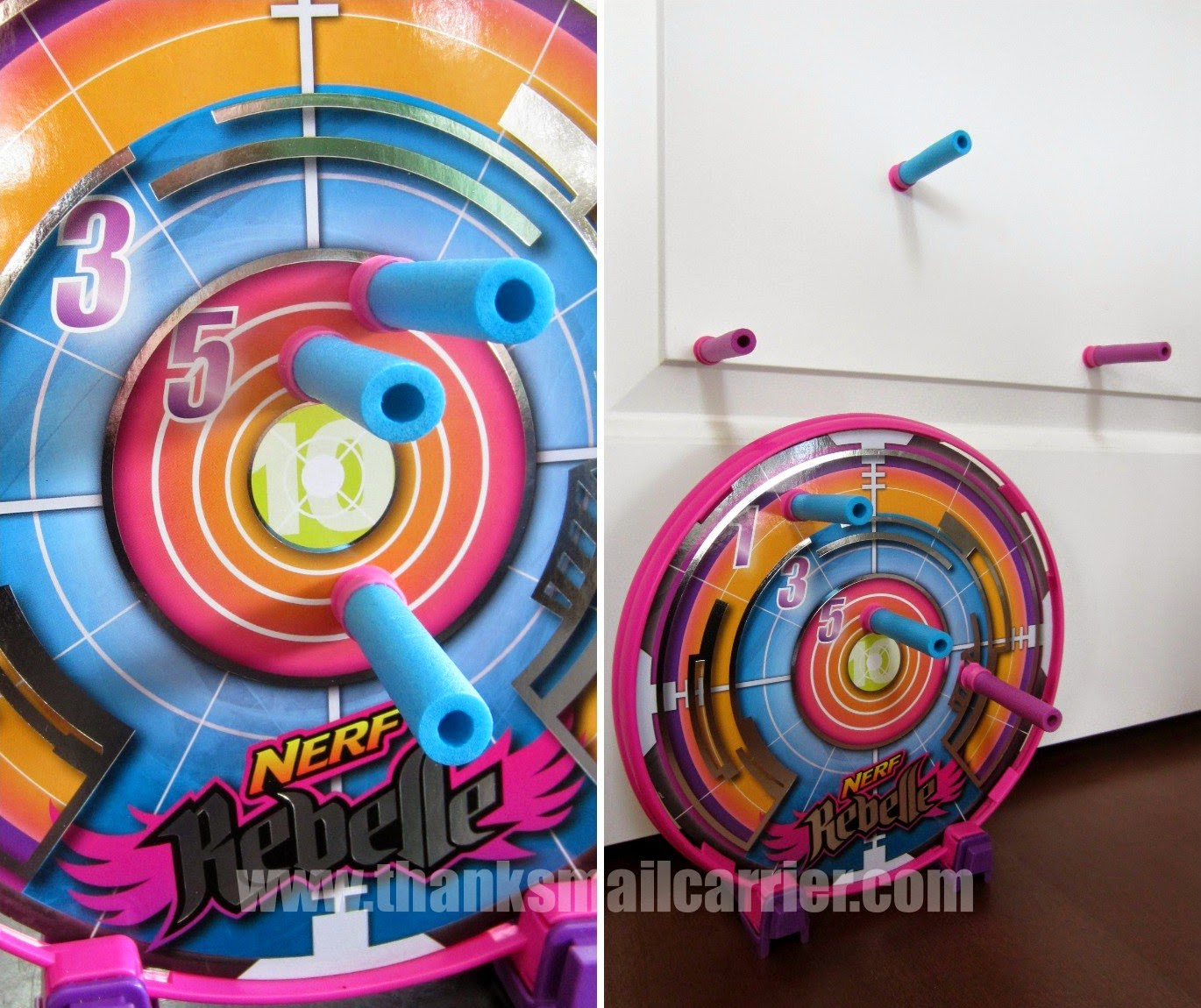 Nerf Rebelle bow and arrow