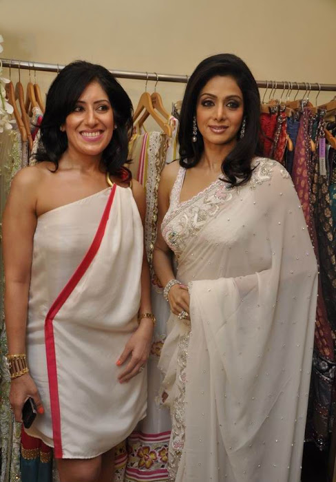 sridevi kapoor in transparent saree hot images