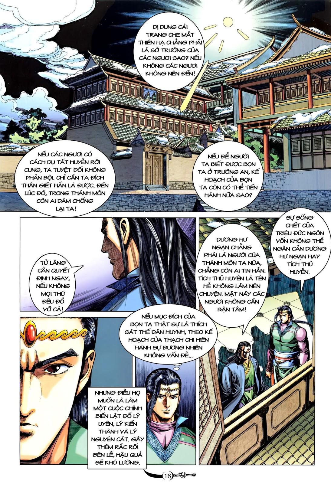 Đại Đường Song Long Truyện chap 216 - Trang 18