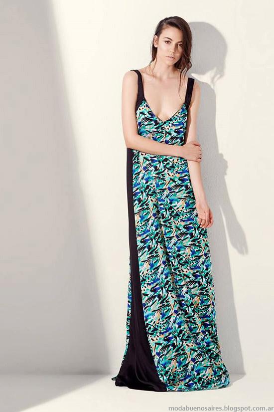 Vestidos largos de fiesta verano 2015, colección de moda Justa Petra primavera verano 2015.