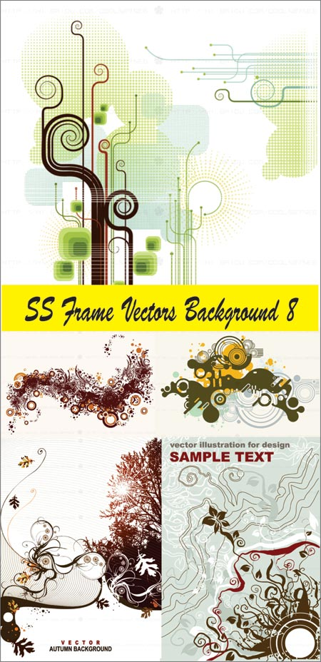 SS Frame Vectors Background 8