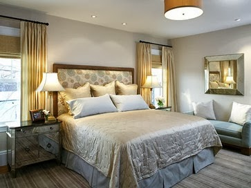 Designing Home Design Solutions A Bed Between Two Windows