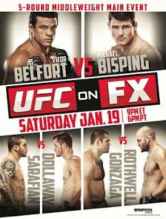 UFC Sao Paulo FX 7 Belfort Bisping Daniel Sarafian