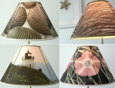How To Make A Lampshade With Photos To Fabric Transfers