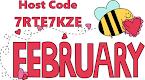 February Host Code
