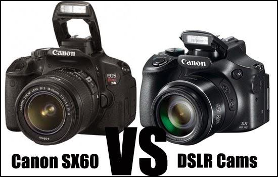Canon SX60 vs DSLR Cameras