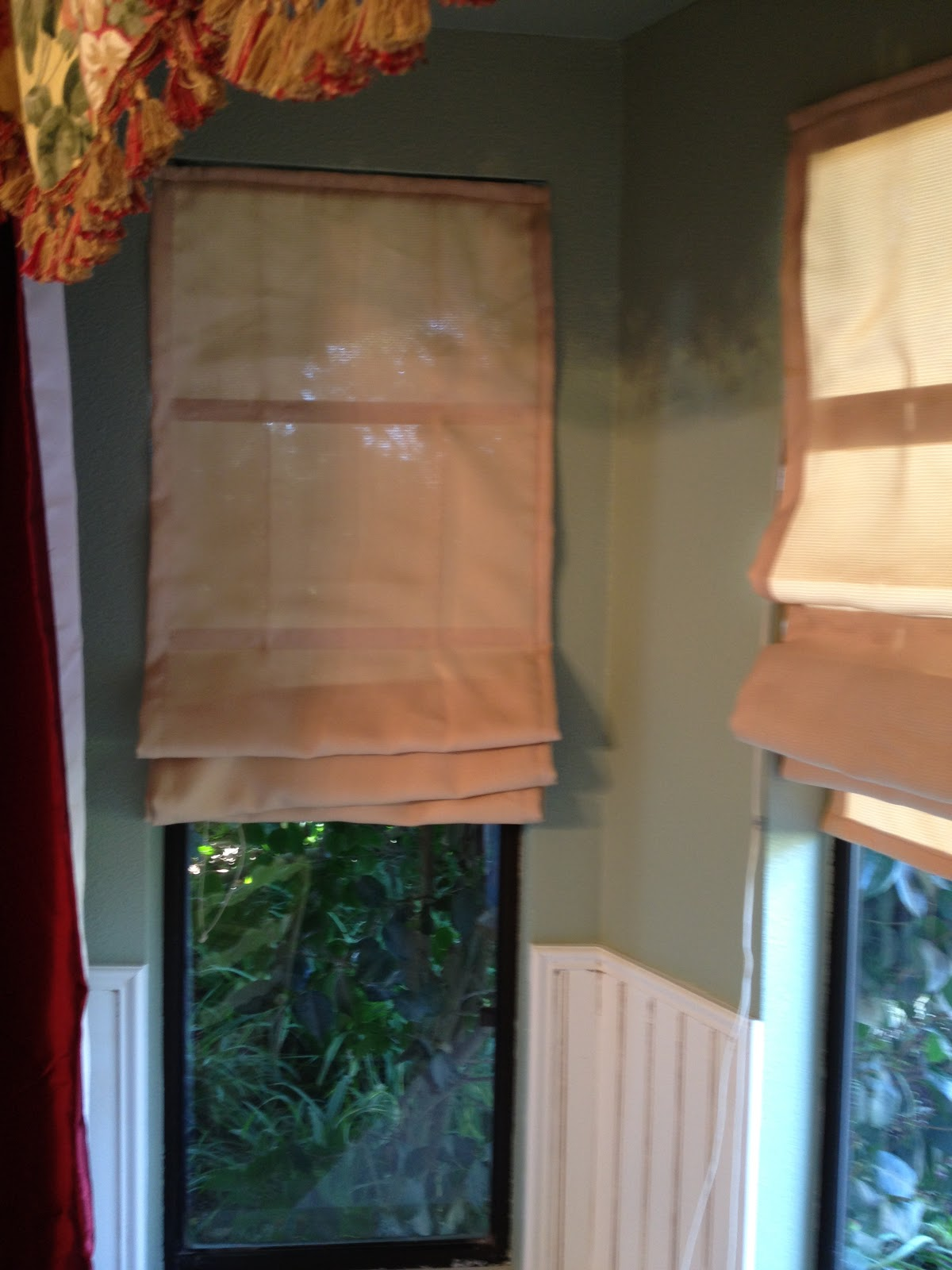 how to make roman shades with old blinds