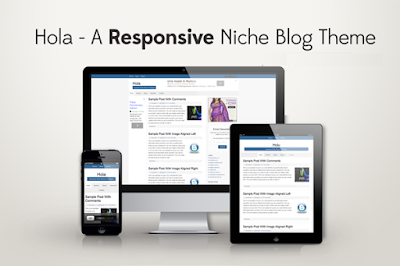 Hola Responsive Event Blogging Blogger Template