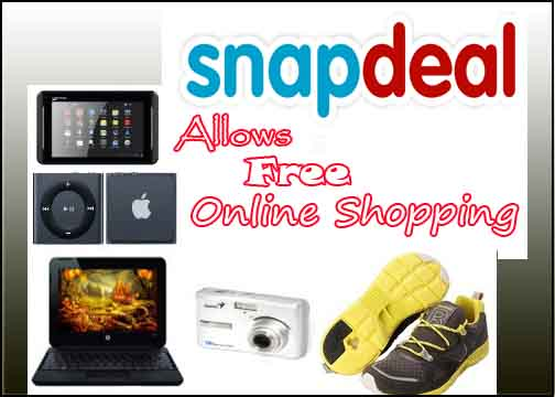 Free online shopping to buy products