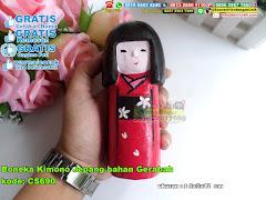 Boneka Kimono Jepang Bahan Gerabah