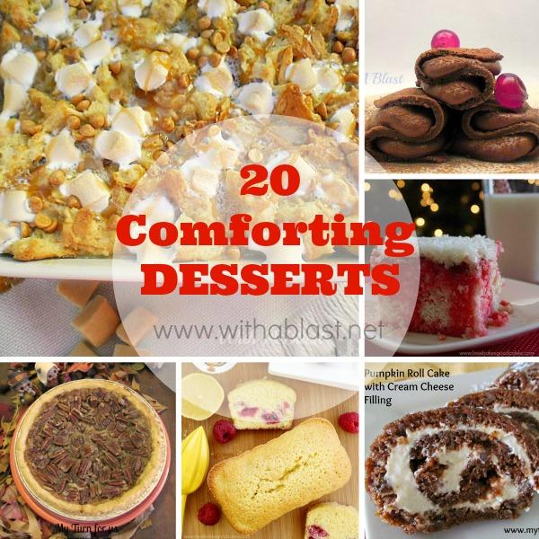 20 Comforting Desserts