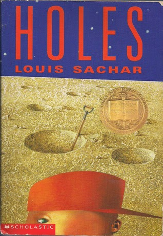 the cover of Holes by Louis Sachar