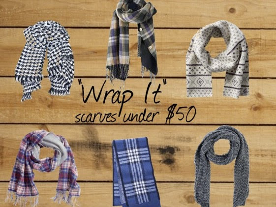 Teacher Tip Thursday: Wrap It, Scarves < $50