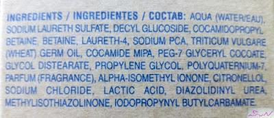 ingredientes champú hidratante biokera
