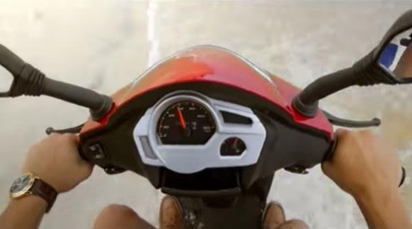 Mahindra Gusto 110cc speedometer