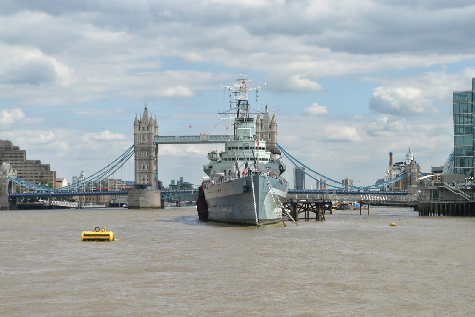 HMS Belfast, River Thames, UK