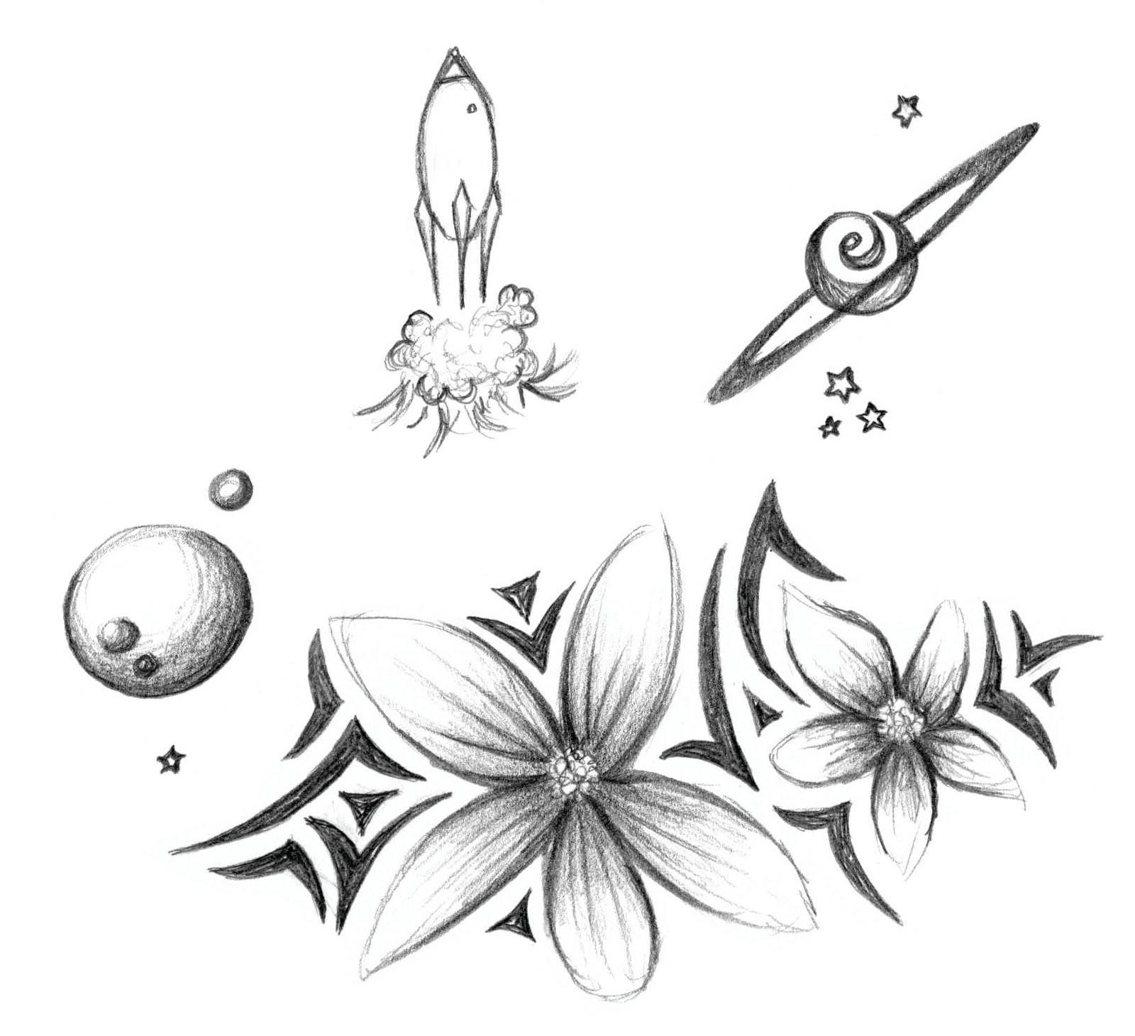 Heidi Schwartz Flowers Space and Octopus Heads