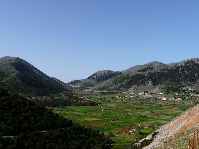 Kreta - w drodze przez wyspę