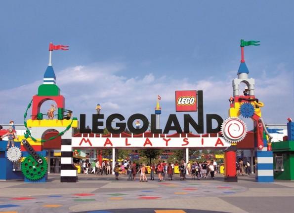 Pintu Masuk Legoland Malaysia (Entrance)