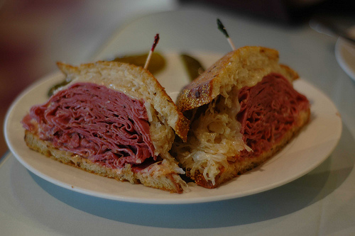 the new york deli serves high quality sandwiches prepared from the ...