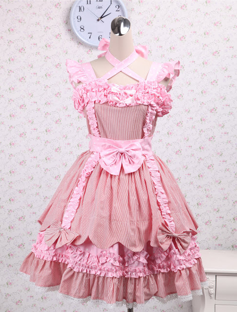 Pink Bow Sweet Lolita Dress