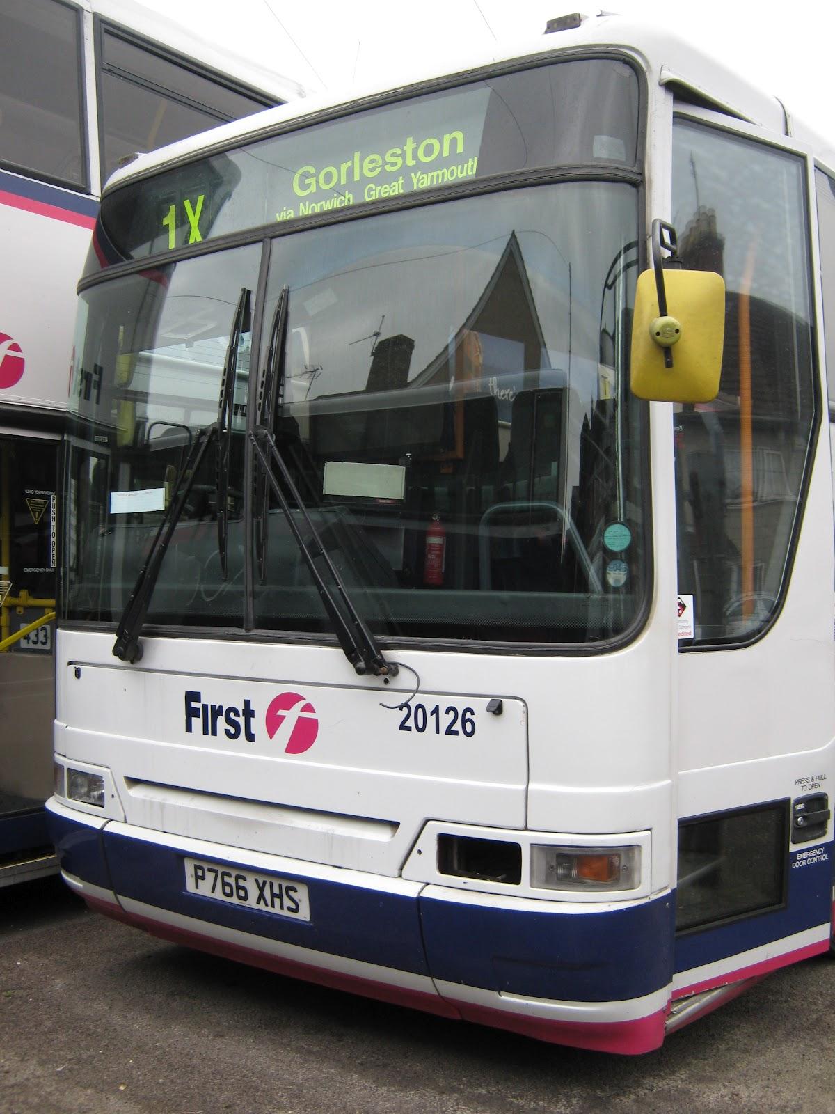 East Norfolk (and East Suffolk!) Bus Blog: December 2012