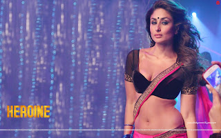Heroine Wallpaper Hot Kareena Kapoor Halkat Jawani