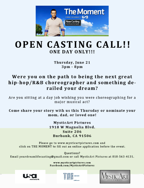 Mysticart pictures news one day only open casting call for one day only open casting call for choreographers pronofoot35fo Choice Image