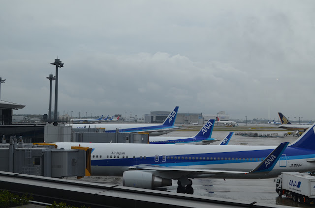 Airplanes at Narita Airport