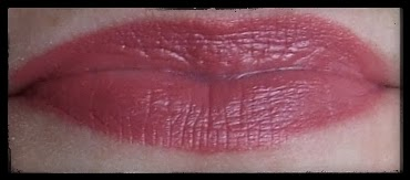 mac craving lipstick swatch on lips review beauty blog