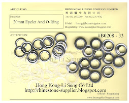 Eyelet And O-Ring Supplier - Hong Kong Li Seng Co Ltd