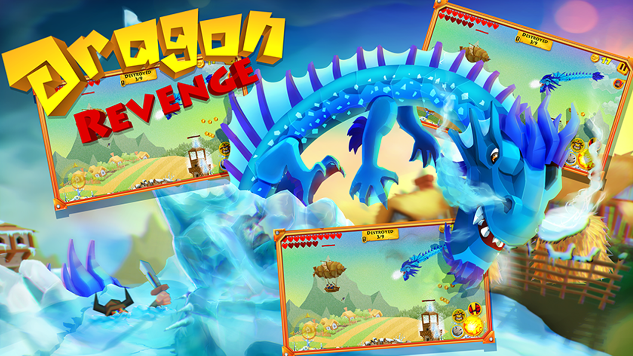 The Dragon Revenge Gameplay IOS / Android