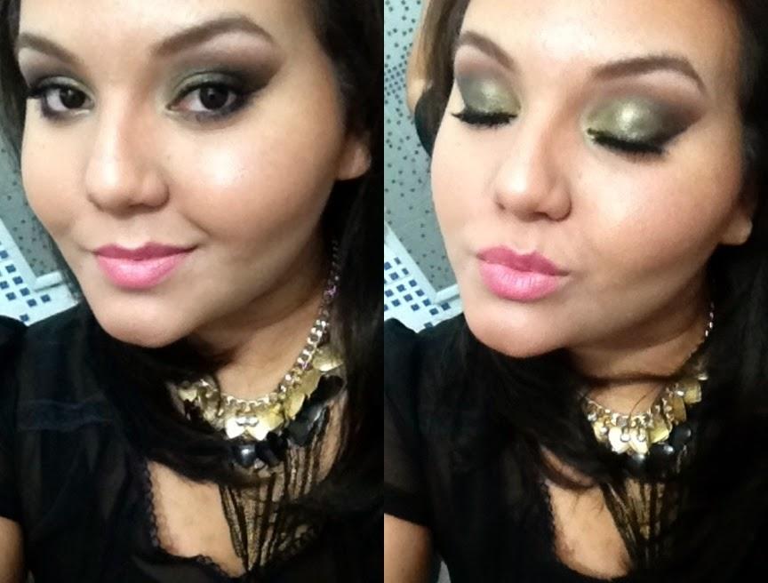 maquiagem verde, maquiagem verde folha, maquiagem verde musgo