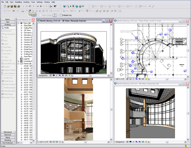 home decorations: autodesk revit architecture characteristics