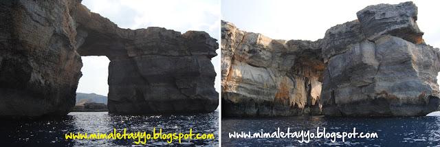 La ventana azul, Gozo, Malta
