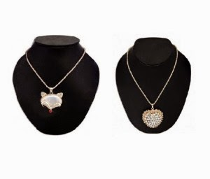 Stophere : Elizabeth Heart Pendant at Minimum 50% OFF + Extra 50% OFF : Buy To Earn