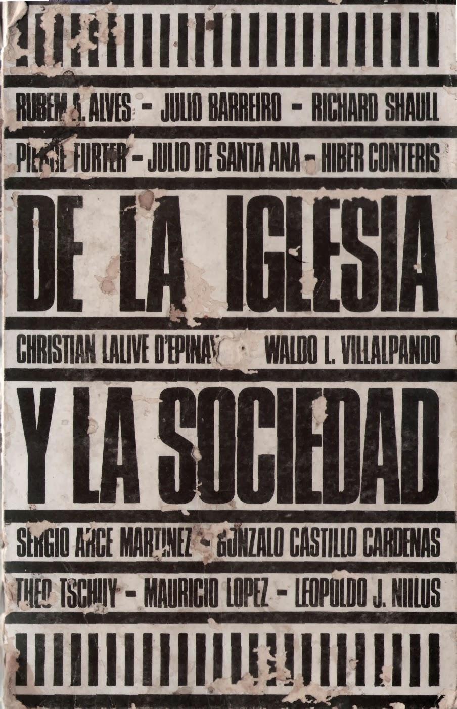 Varios Autores-De La Iglesia y La Sociedad-