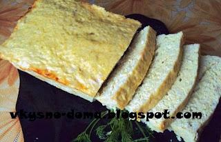 Суфле из куриных грудок с сыром