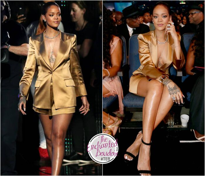 Rihanna outfit BET Awards