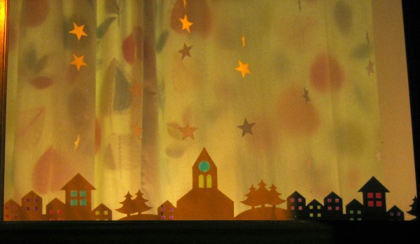 Christmas Window Stickers - Our Handmade Home