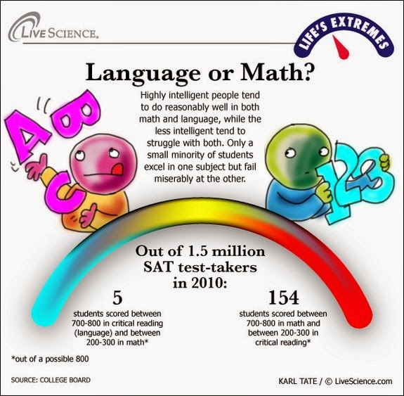 english vs math essay