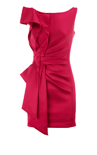 Hot Pink Signature Stretch Dress, Karen Millen