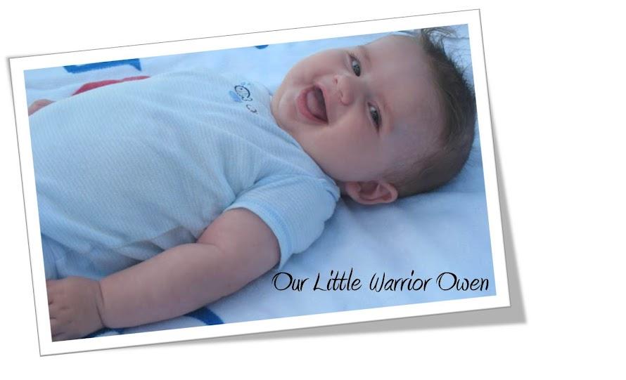 Our Little Warrior Owen