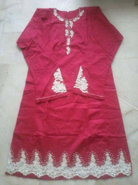 Happy Irfa: Fesyen Baju Raya 2013 ( Renda Tampal)