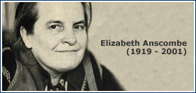 g e m anscombe philosophy page Gem anscombe died a decade ago this week, but her uncompromising views still draw a crowd to conferences and campus clubs that bear her name.