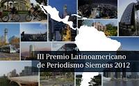 Premio Latinoamericano de Periodismo Siemens