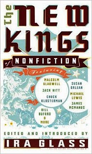 http://www.amazon.com/New-Kings-Nonfiction-Michael-Lewis/dp/1594482675/ref=sr_1_1?s=books&ie=UTF8&qid=1419952621&sr=1-1&keywords=the+new+kings+of+nonfiction