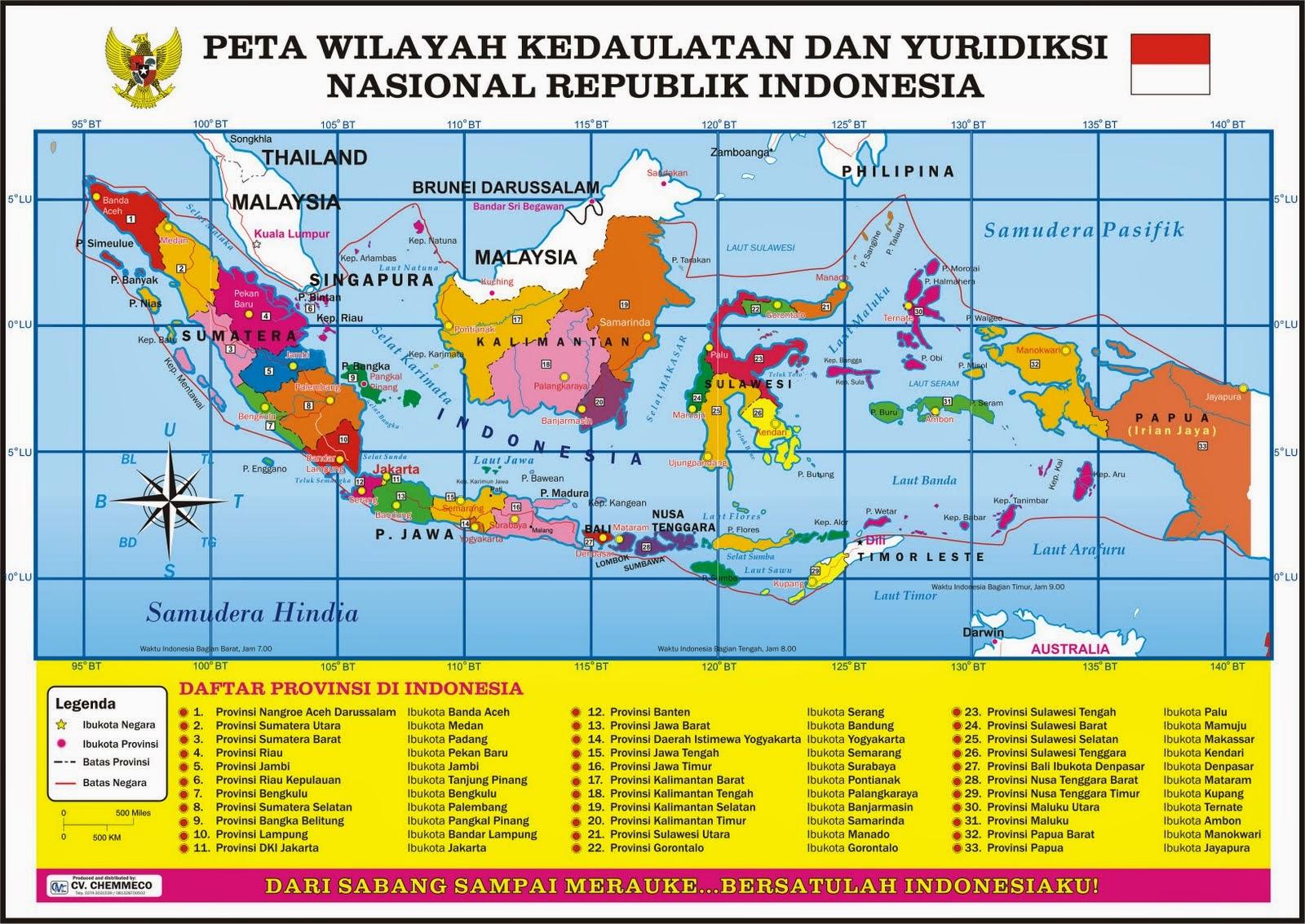 Provinsi di Indonesia (Bagian 3) | .:: Lebih Cinta Indonesia ::.