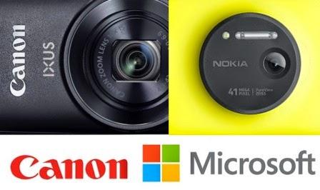 Microsoft dan Canon menandatangani perjanjian lisensi silang